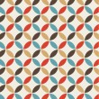 Vettoriale Stock : Seamless pattern background retro vintage design
