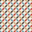 Stockvektor : Seamless pattern background retro vintage design