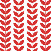 Flower pattern seamless background, vector design — Stock Vector