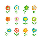 Flowers vector design — Stock Vector