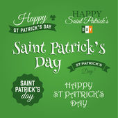 Happy Saint Patricks day — Stock Vector