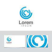 Elemento de design de logotipo — Vetor de Stock