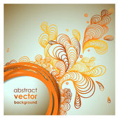 Funky graphic design - abstract background — Stock Vector
