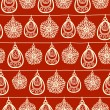 Vector Christmas and New Year seamless pattern. — Stock Vector #14770259