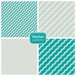 A set of 8 striped patterns. Seamless vectors. - Stockvektor