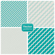 A set of 8 striped patterns. Seamless vectors. - Vektorgrafik