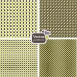 4 seamless modern patterns. — Stock Vector #18423851