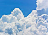 Sky-clouds background. — Stock Photo