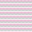 Seamless vector geometric pattern with pink waves. — Stock Vector