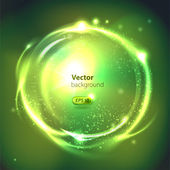 Esfera brillante de vector. abstact — Vector de stock