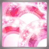 Abstract background with pink ornament. — Stock Vector