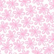 Floral seamless background for your design — Stock Vector