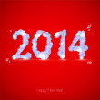 Vector de stock : New year 2014.