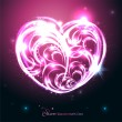 Glowing heart. — Stock Vector #38801499
