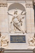 Minerva - City hall of Troyes (Aube - France) — Stock Photo