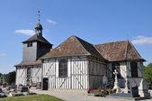 The church Saint Quentin in Mathaux (Aube - France) — Stock Photo