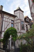 Tower - House in Troyes (Aube - France) — Stock Photo