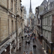 ROUEN : Street of Gros Horloge — Stock Photo