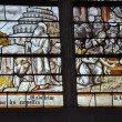 Stock Photo: Church of Brienne-le-Château (Aube) : stained glass