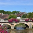 Stock Photo: ESSOYES (AUBE - FRANCE) : Brigde