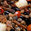 Display of shellfish — Stock Photo