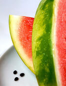 Sliced fresh watermelon — Stock Photo