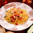 Italian spaghetti - Stock Photo