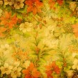 Floral textile weave texture - Stock Photo