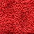 Stock Photo: Red textile fibre texture
