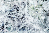 Abstract background of shattered glass — Stock Photo