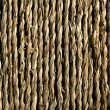 Stock Photo: Background of twisted hemp fibres