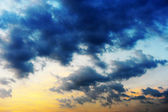 Cloudscape at sunset — Stock Photo