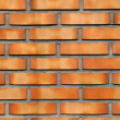 Neat face brick wall - Stock Photo