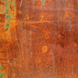 Rough textured rusty metal surface — Stock Photo #14194273