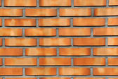 Neat face brick wall — Stock Photo