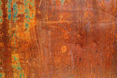 Rough textured rusty metal surface — Stock Photo