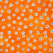 Royalty-Free Stock Photo: Bright orange floral background Bright orange floral background