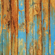 Stock Photo: Grunge peeling wooden boards