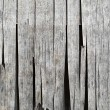 Dried desiccated wooden cladding — Foto Stock