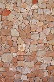 Beautiful dry-stone stone wall Beautiful dry-stone stone wall — Stock Photo