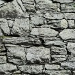 Stock Photo: Dry-stone wall construction