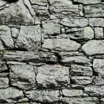 Постер, плакат: Dry stone wall construction