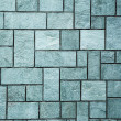 Neat cut stone wall Neat cut stone wall — Stock Photo