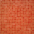 Colourful orangey-red mosaic tiles — Stock Photo