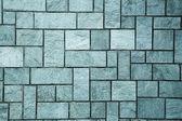 Muro pietra taglio pulito pulito tagliato il muro di pietra — Foto Stock