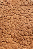 Rough gritty patterned plaster on a wall — Stock Photo