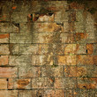 Old grungy brick wall — Stockfoto