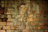 古い汚れたれんが造りの壁 — ストック写真