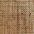 Texture of woven jute — Stock Photo