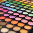 Постер, плакат: Large array of eye shadows
